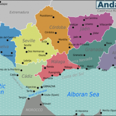Andalusia Wv Map Png